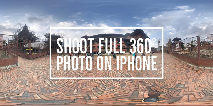 shoot 360 photo iphone