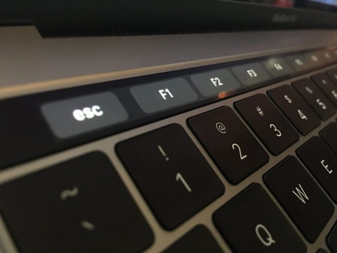 show fn key macbook pro-min