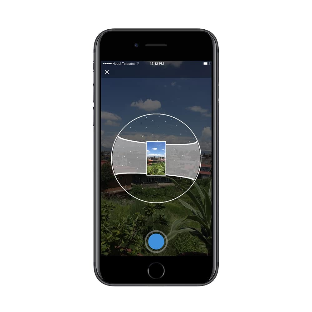upload 360 degree photo as cover photo