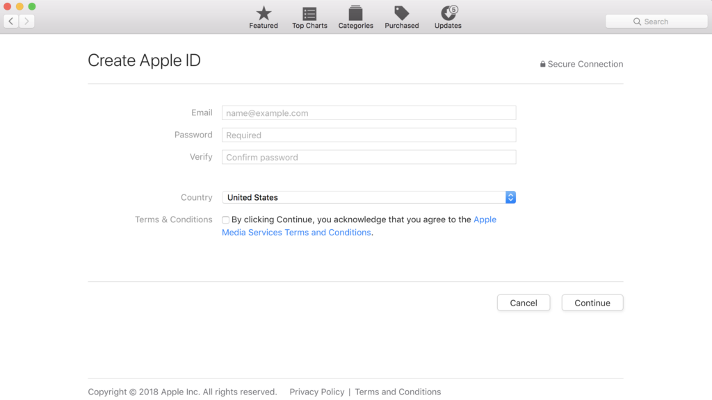 create-apple-id-mac