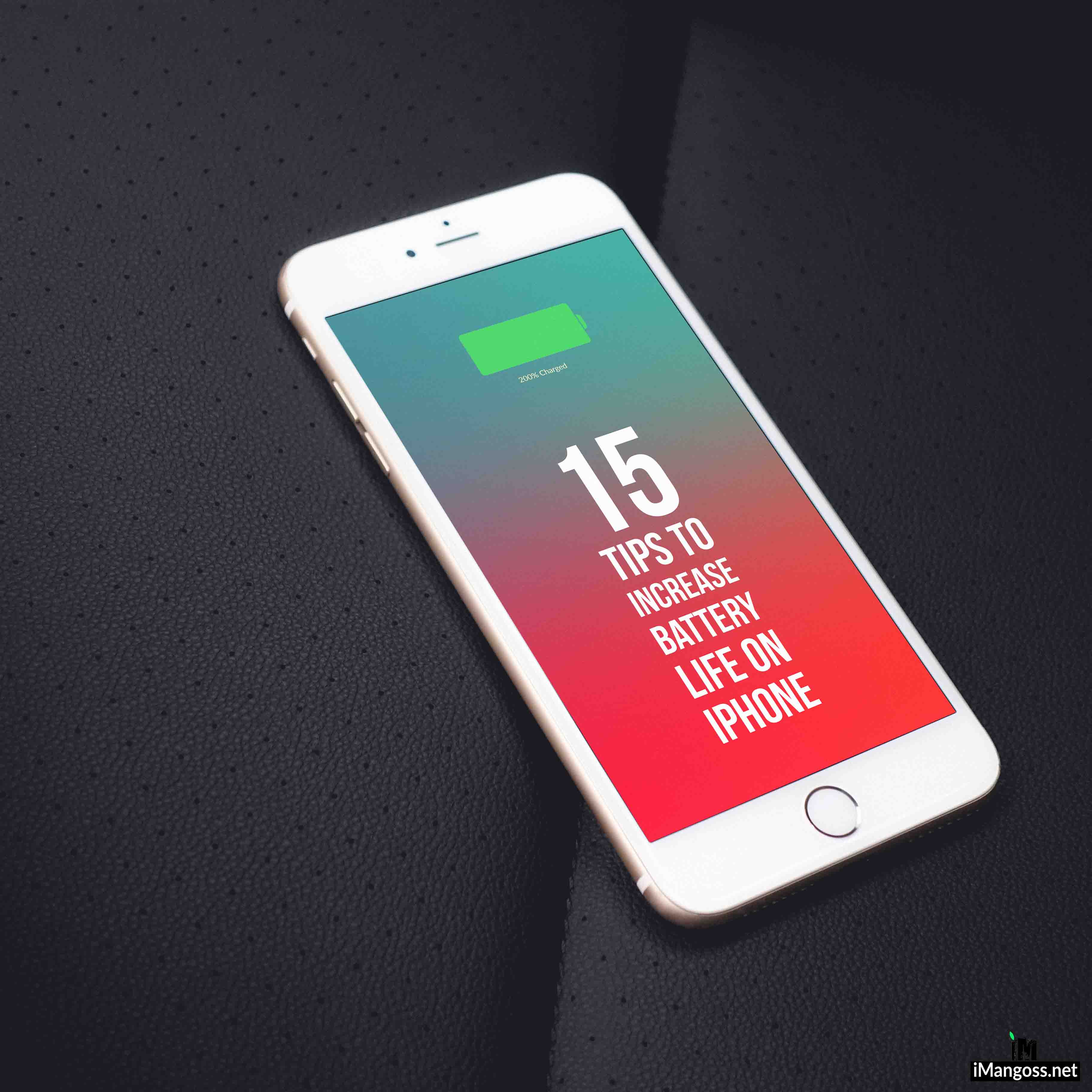 15 Tips to increase battery life in iOS 11