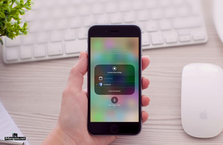How to Live Stream iPhone Screen to Facebook