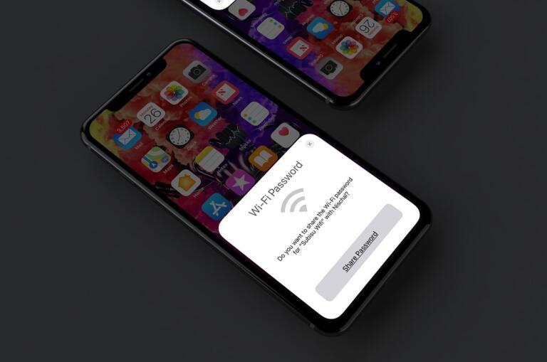 How To Share WiFi Password Between iPhone, iPad Or MacBook Running iOS 12