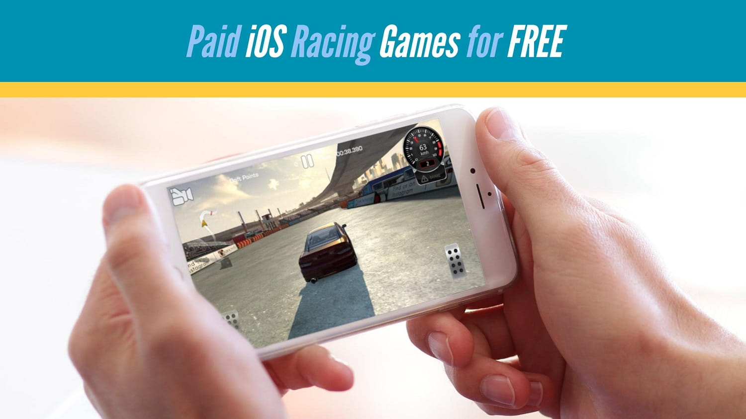 iPhone-paid-racing-game-for-free