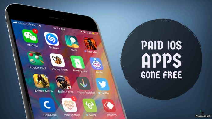 paid iphone apps gone free