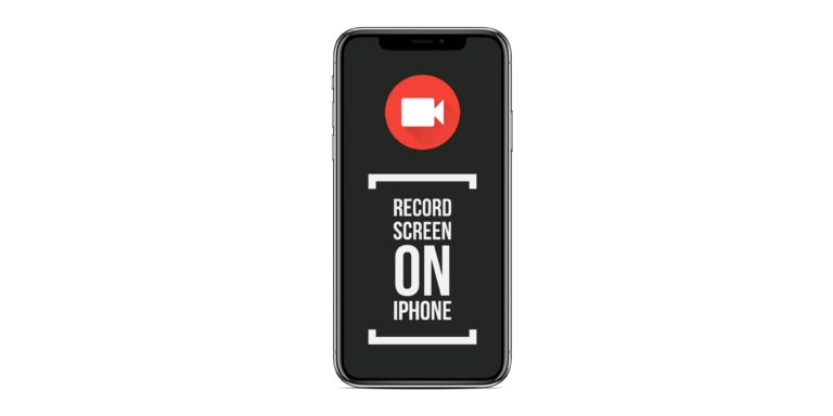 How to Record Screen on iPhone X using Control Center