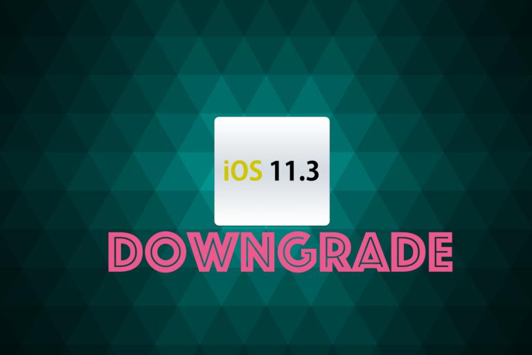 How To Downgrade iOS 11.3 to iOS 11.2.6 [Guide]