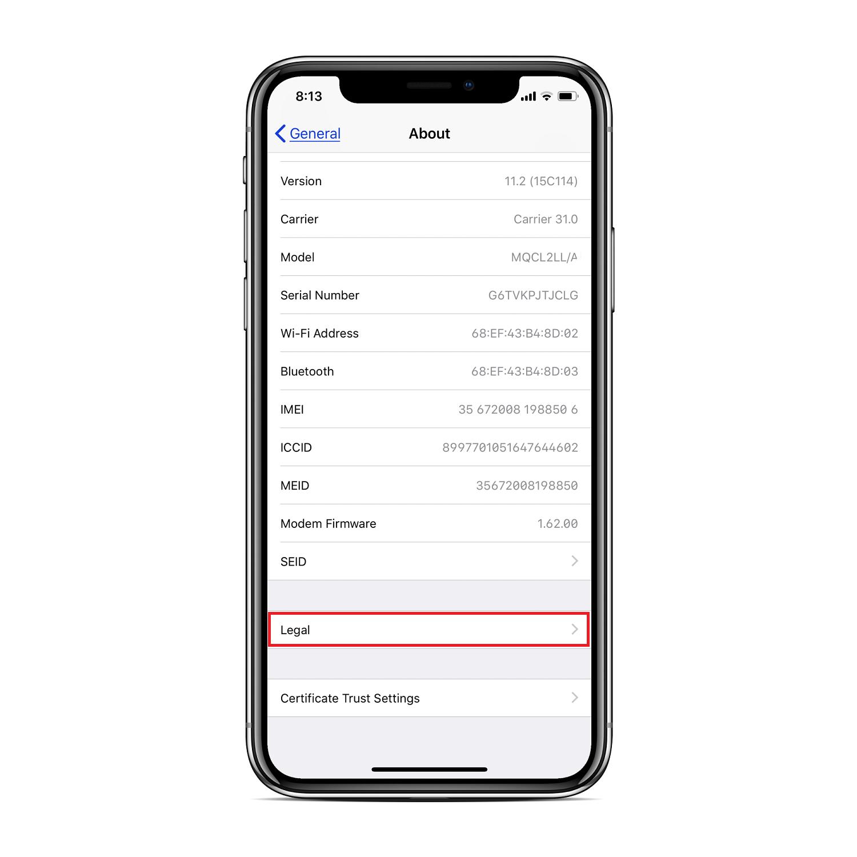 iphone-x-legal