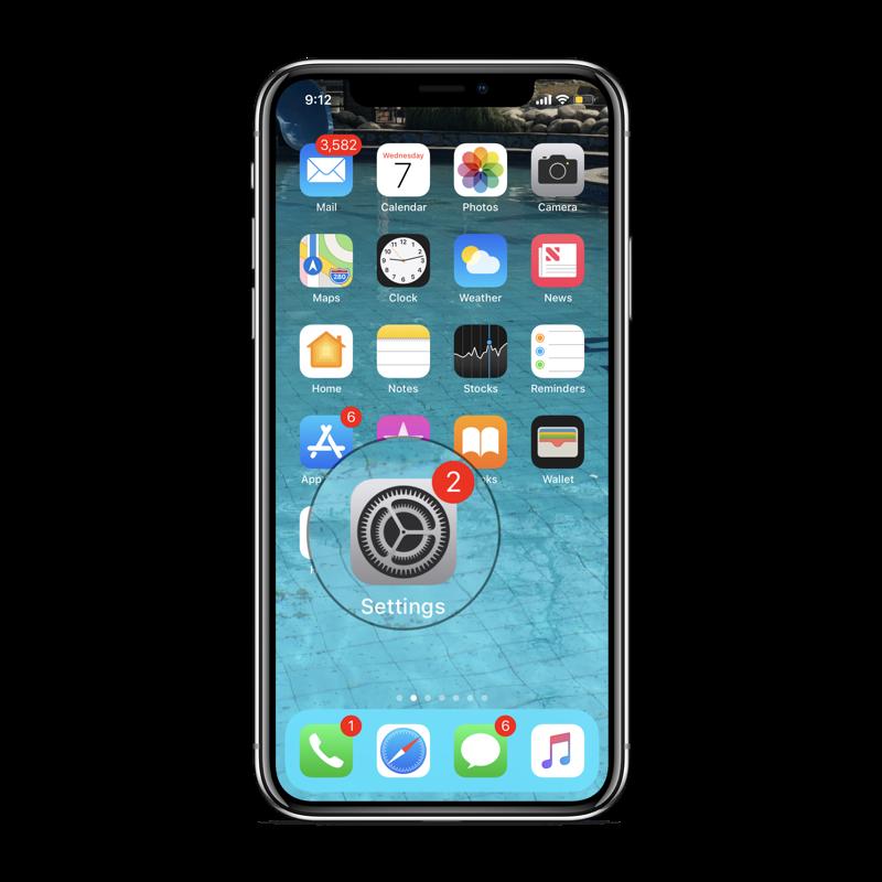 settings-clear-iphone-x-ram1