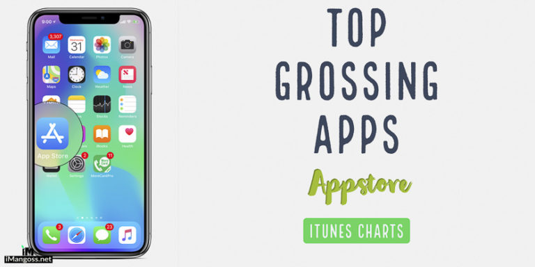 iTunes Charts: 100 Top Grossing Apps on Appstore