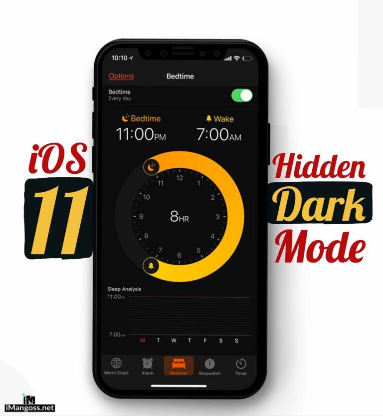 How to Set Up Dark Theme on iPhone/iPad running iOS 11