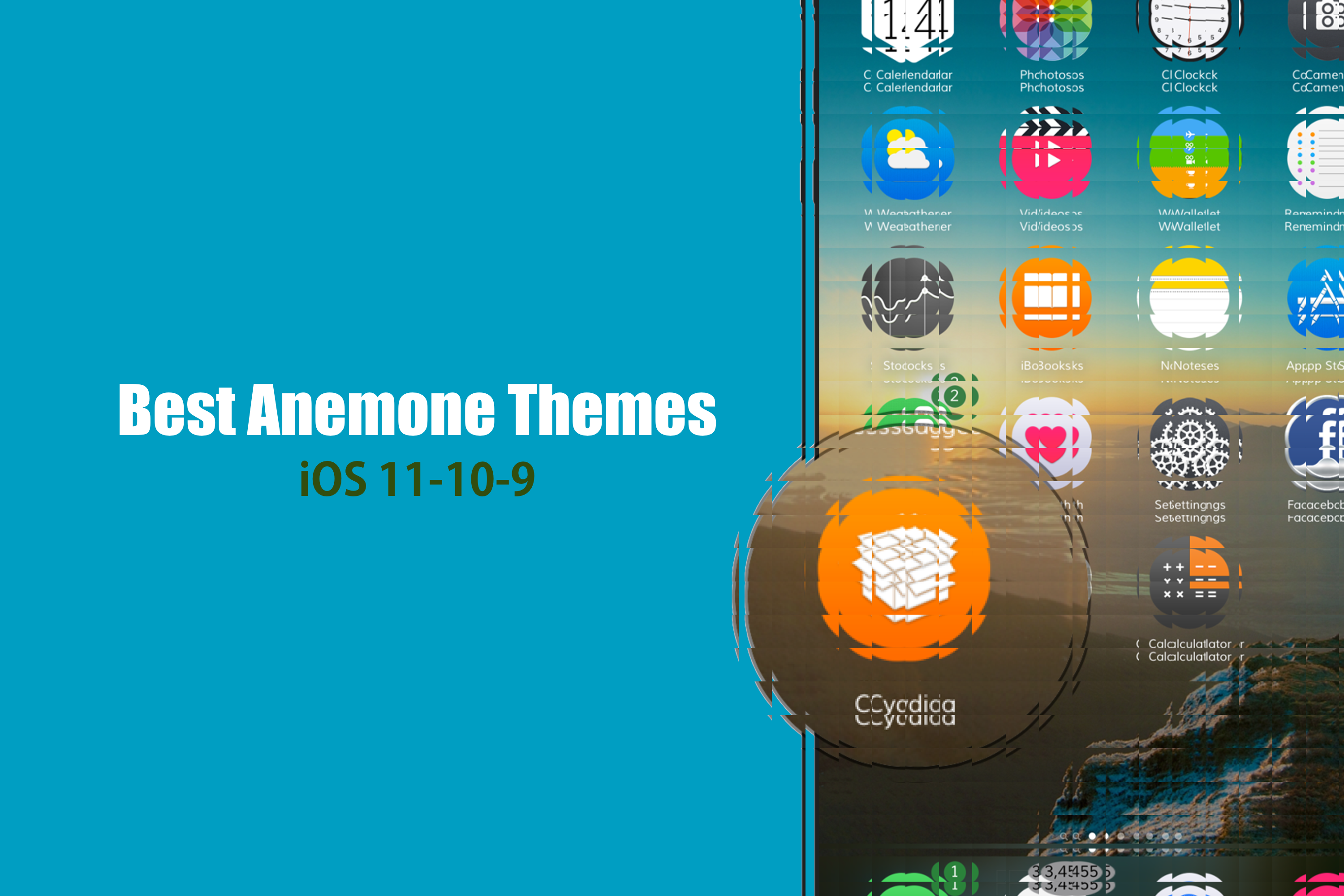 download 42 best anemone themes for ios 11 11 3 1