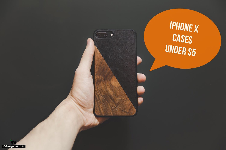 iphone x cases under 5