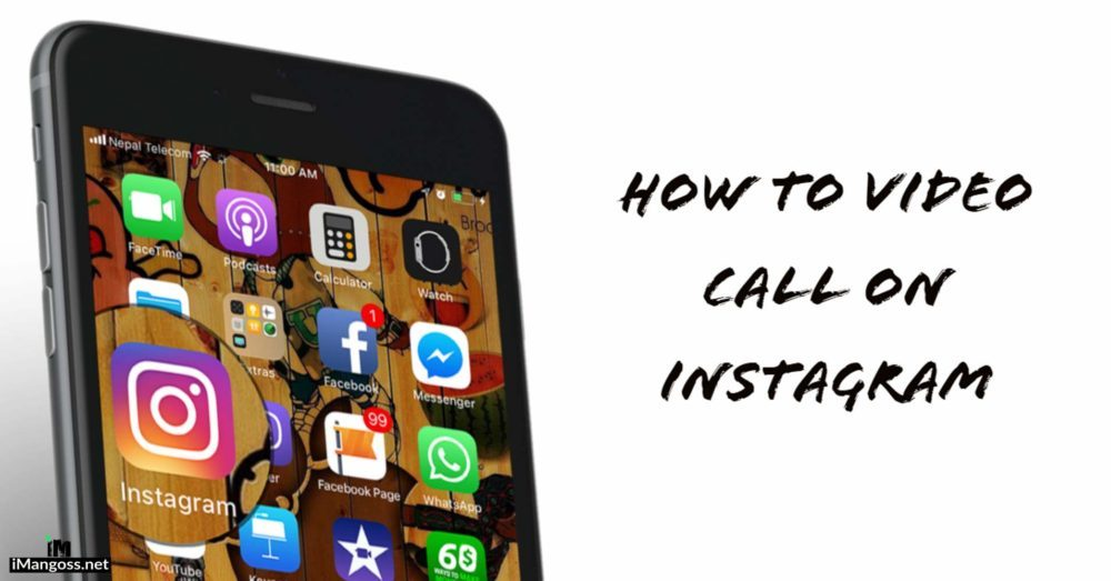 how to video call on instagram