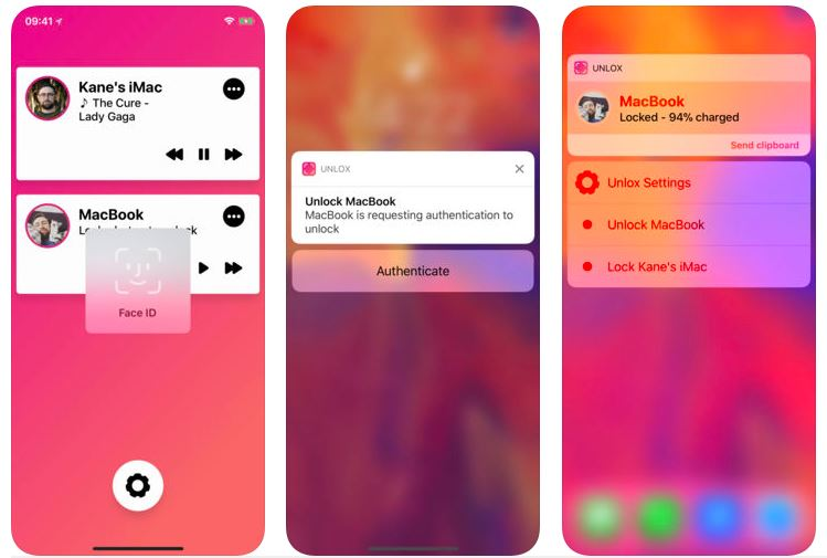 This App lets you Unlock your Mac using iPhone's Touch ID & Face ID