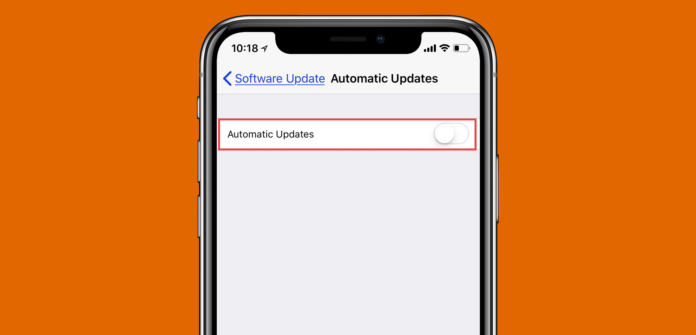automatic-updates-ios-12