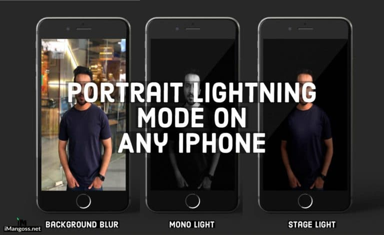 How To Get Portrait Lightning Mode Feature On Any iPhone