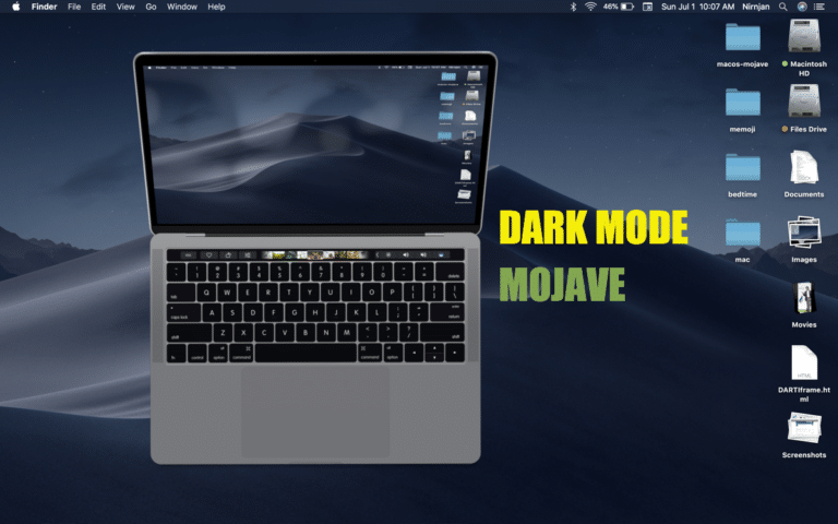 How To Turn On Dark Mode Feature On Mac