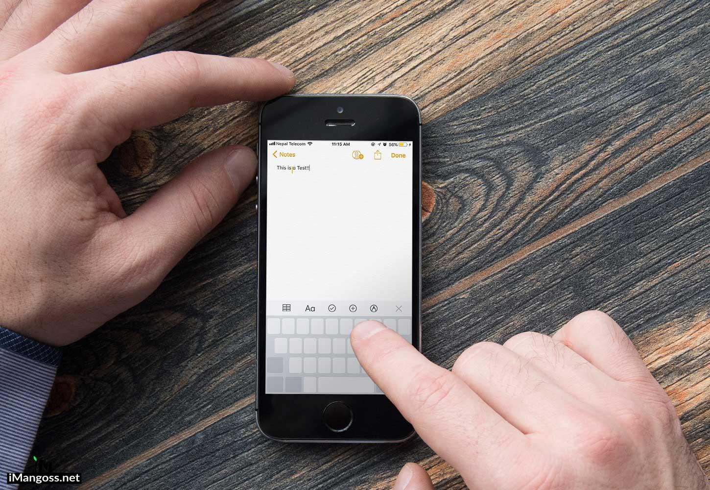 keyboard trackpad feature