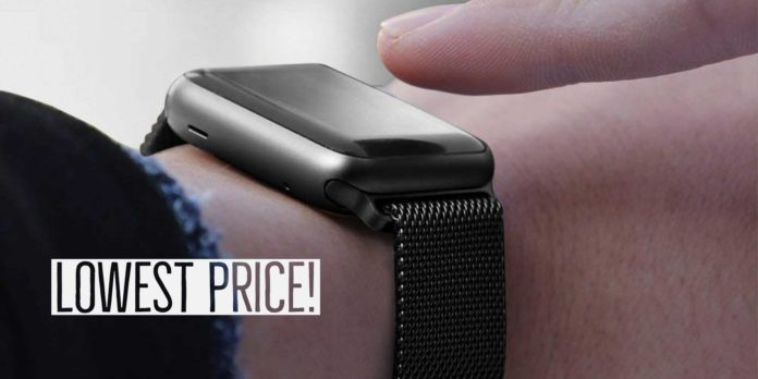 Mesh Milanese Loop Stainless Steel iWatch Band for Apple Watch Series 3 2 1