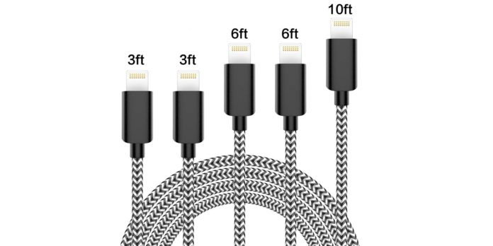 nylon braided cable