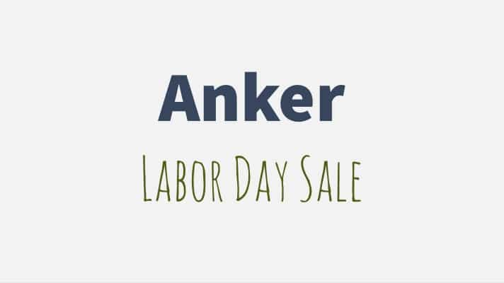 anker labor day sale