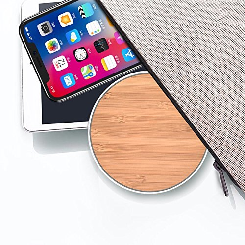 bamboo wireless charger for iphone