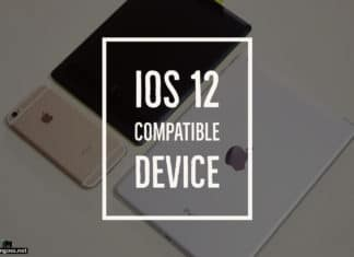 iOS 12 compatible device
