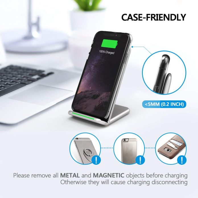 Seneo 10w Qi Fast Wireless Charger For Iphone Xs Again