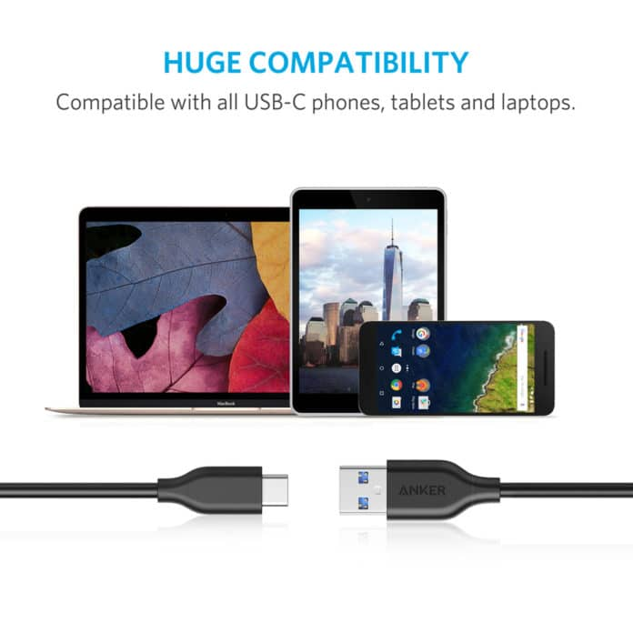 Anker Powerline USB C to USB A Cable Amazon