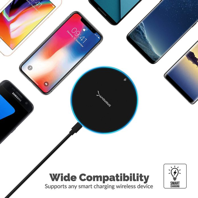Sabrent 10W wireless charger