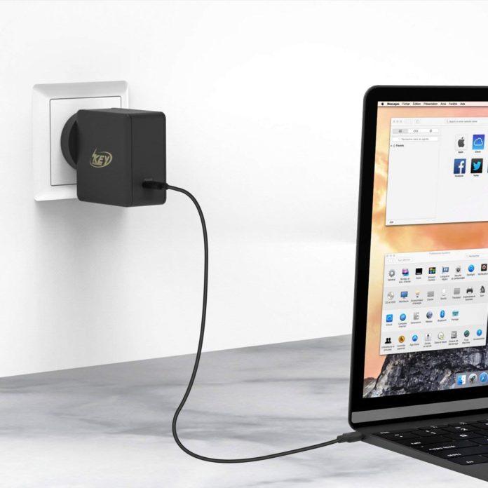USB-C 60W Power Adapter Key Power Type-C
