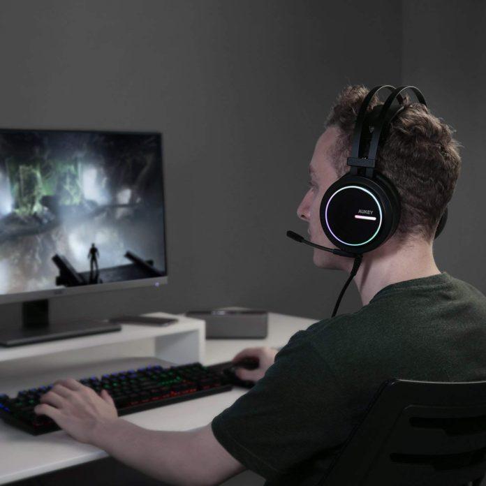 aukey gaming headset