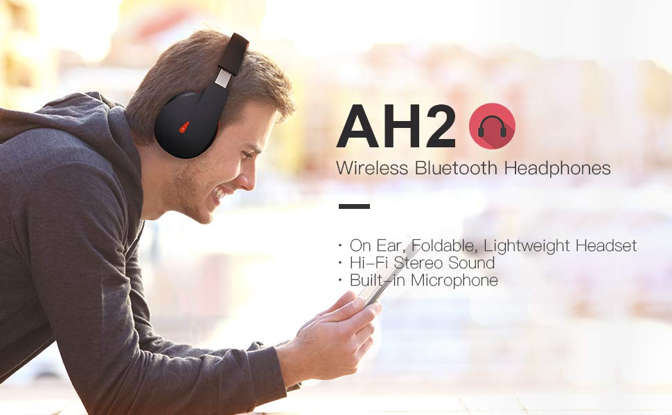 AUSDOM wireless headphone
