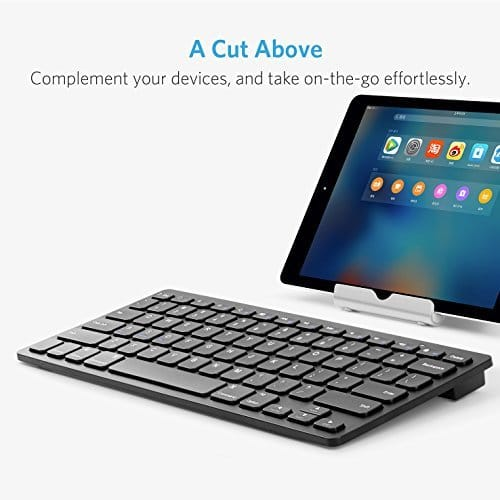 Anker Bluetooth Keyboard Android: This Wireless Keyboard For IPad & MacBook Is Just $13 On Amazon Right Now