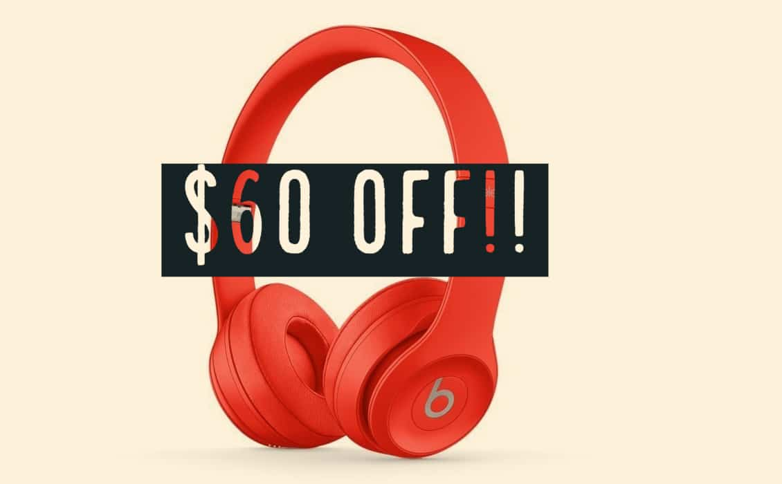 (PRODUCT)RED Apple Beats Solo3 Wireless Headphone Currently  60 Off on  Amazon 6ccc6e16013f