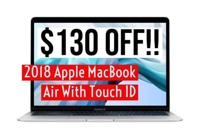 MacBook Air Touch ID deals Amazon