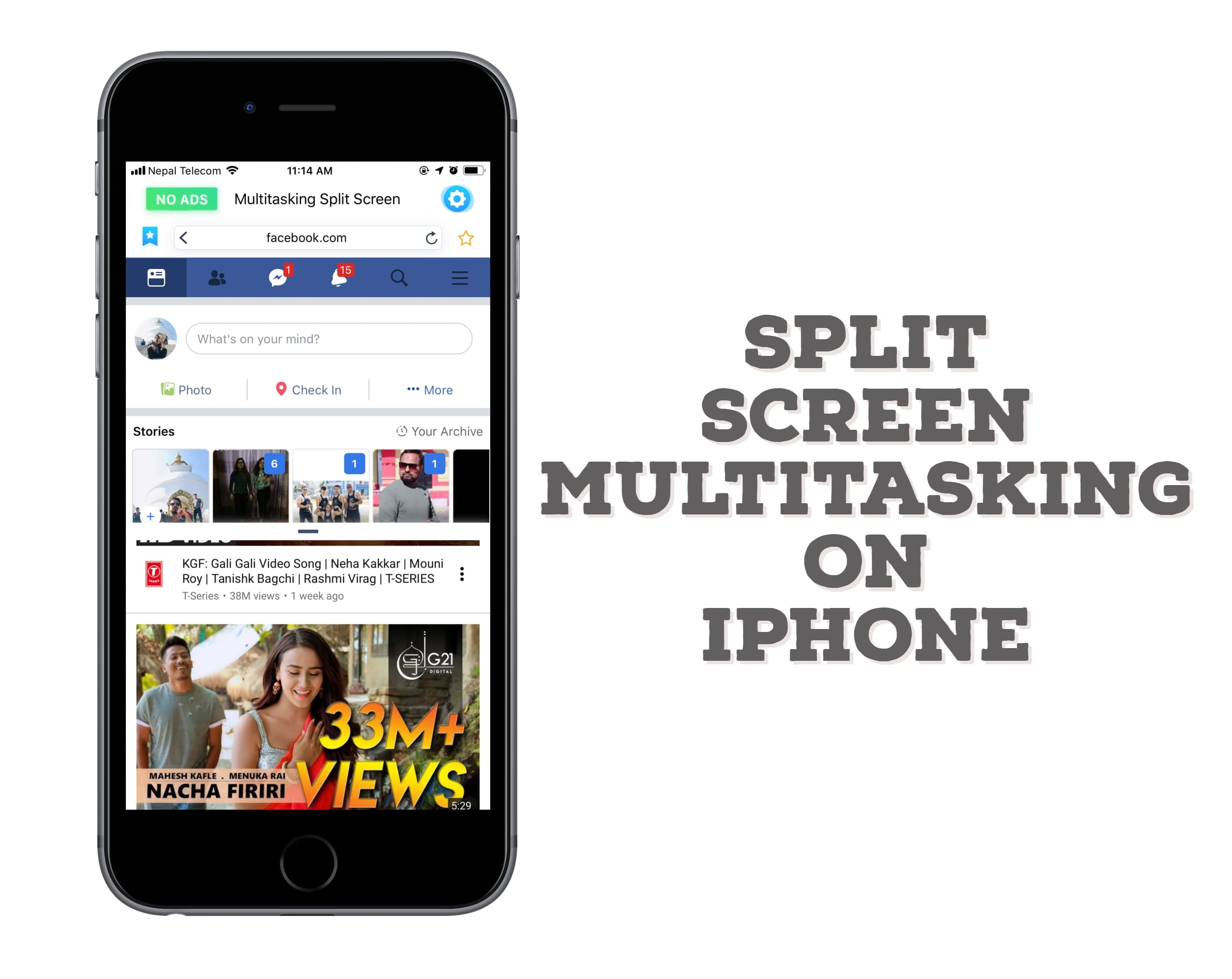Use Split Screen Feature on iPhone