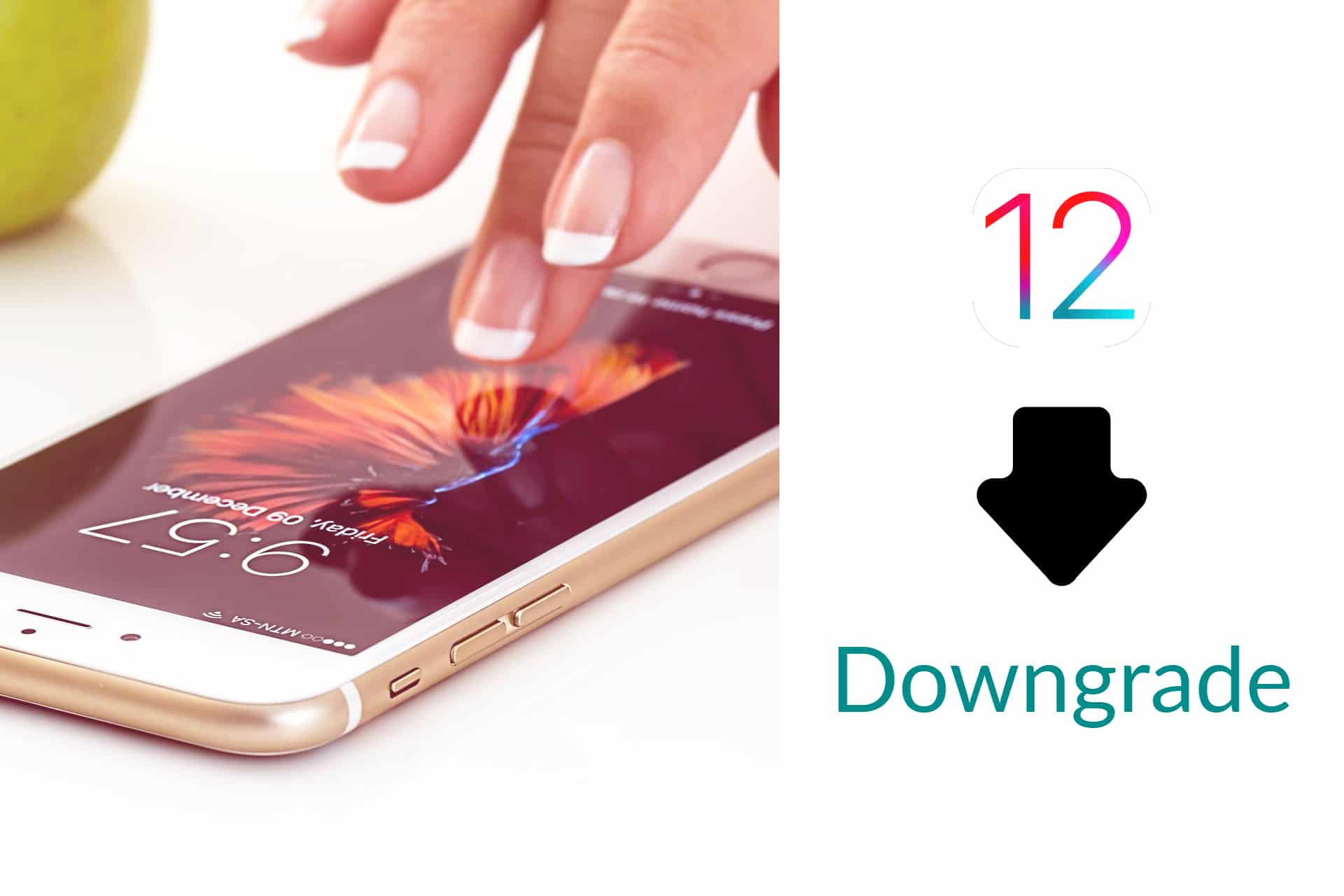 iOS 12 downgrade