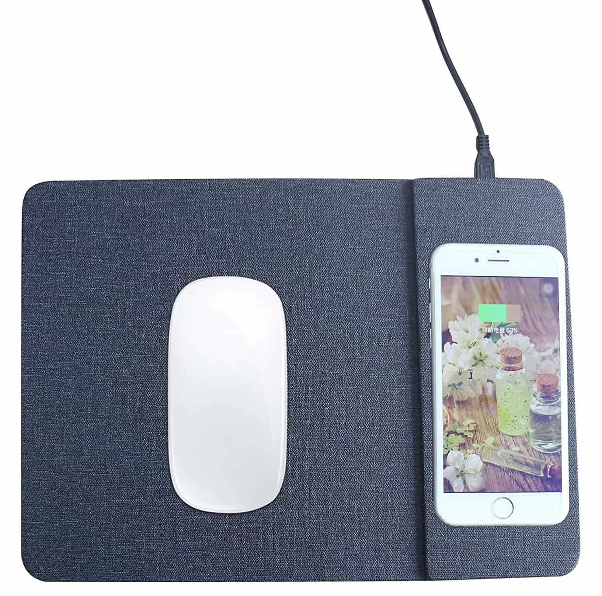 wireless charging mouse pad-min