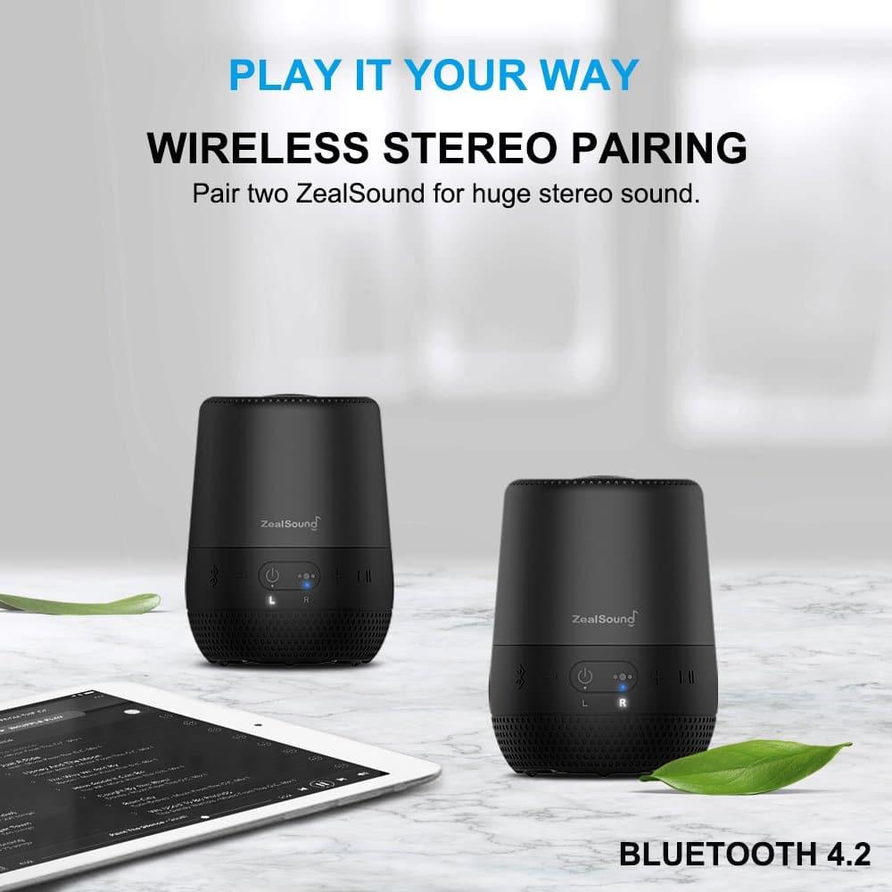 zealsound bluetooth speaker amazon