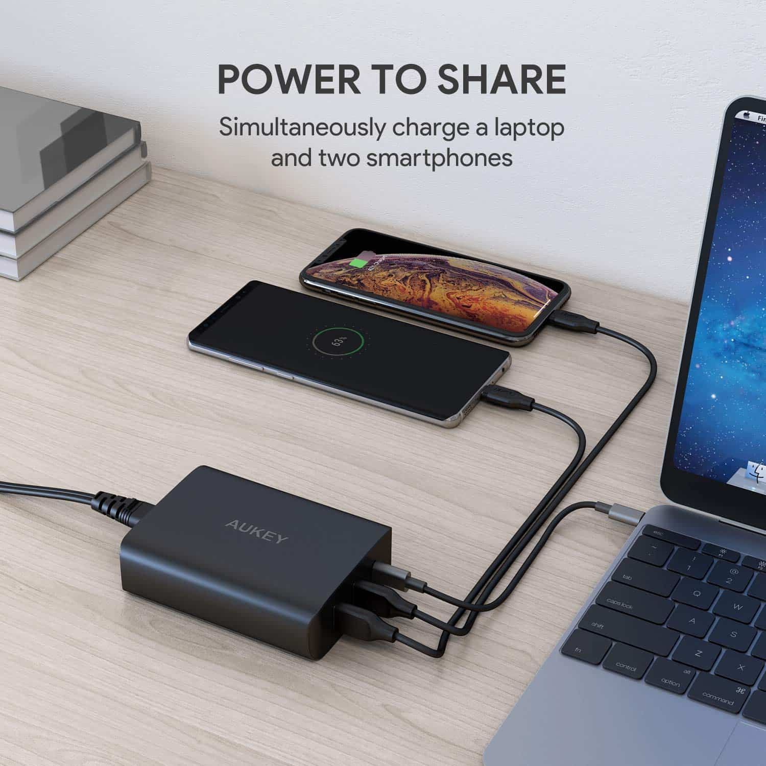 Aukey USB C 60W Wall Charger
