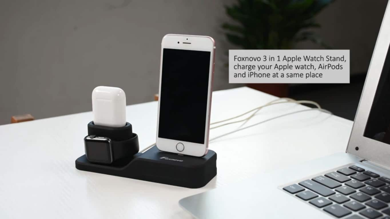 Foxnovo 3 in 1 Charging Station
