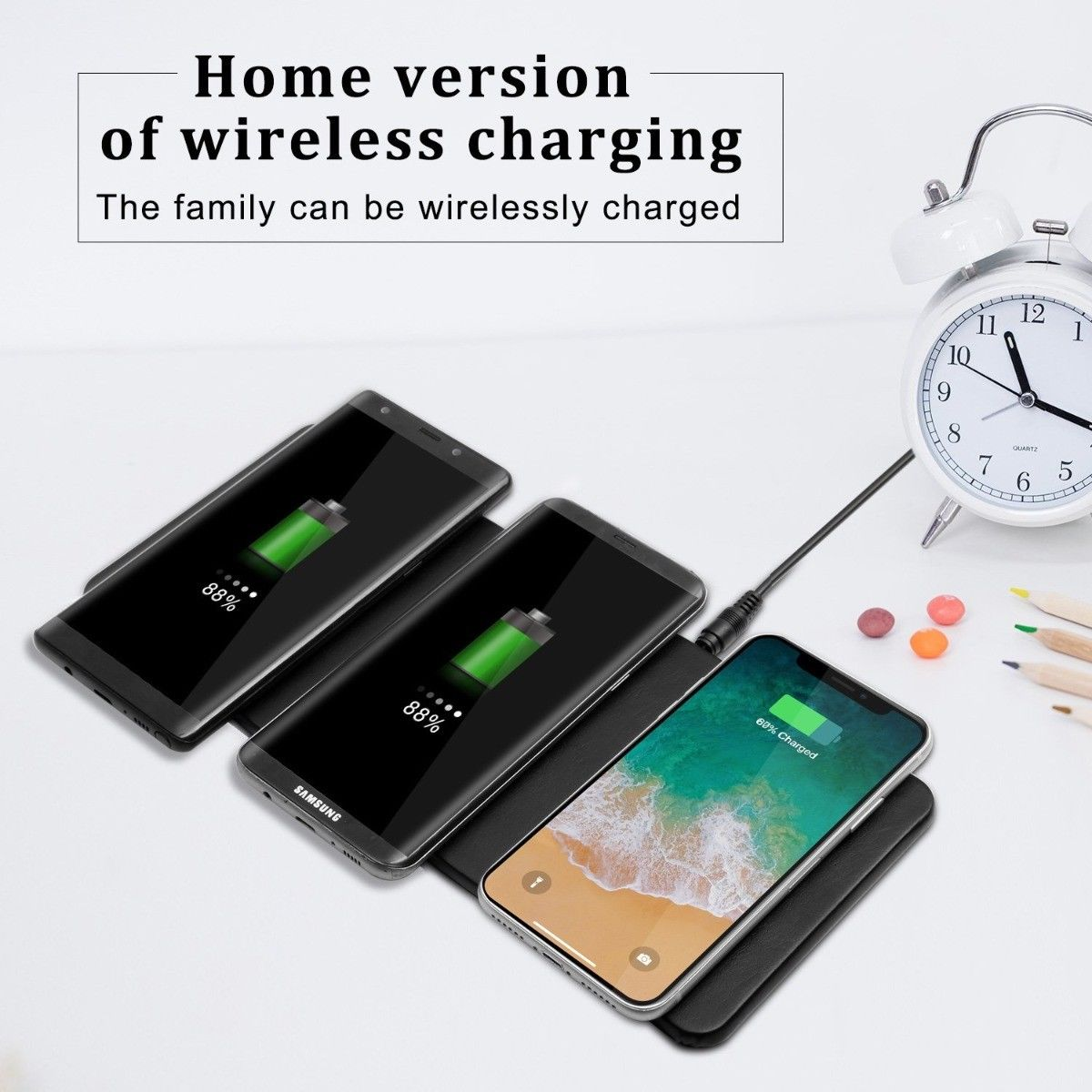 JE 3 Devices Multi Wireless Charge