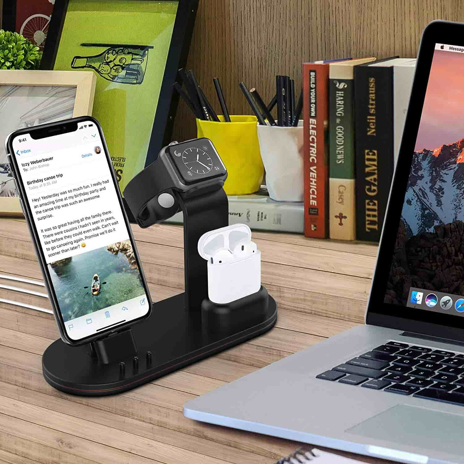 OLEBR Charging Stand for Apple Devices