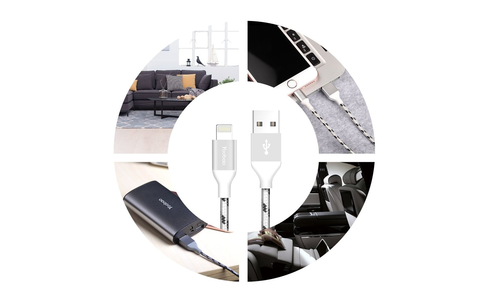 Yoobao lightning cable for iPhone