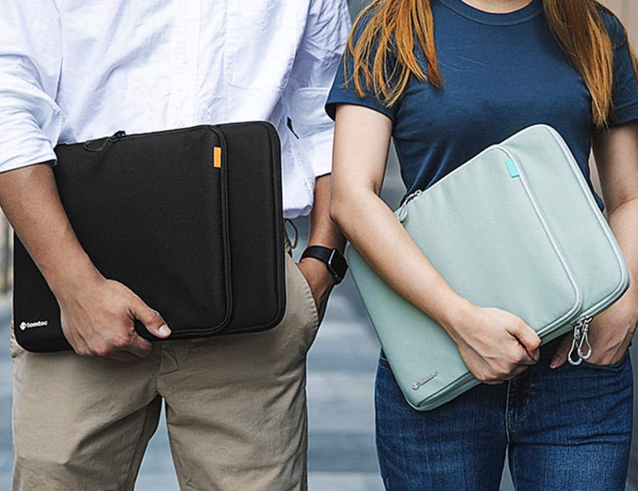 tomtoc macbook sleeve