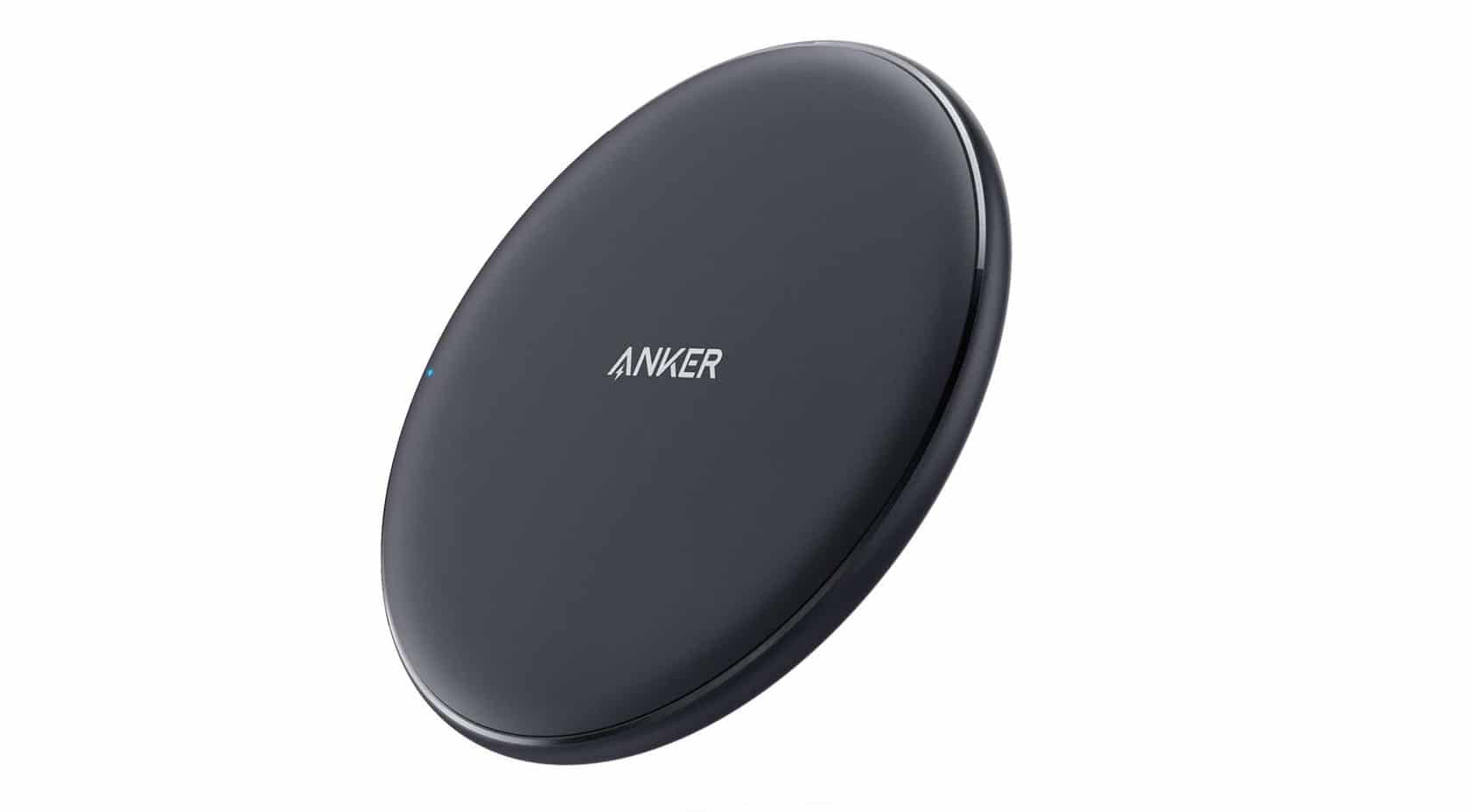 Anker 10W Wireless Charger, Qi-Certified Wireless Charging Pad