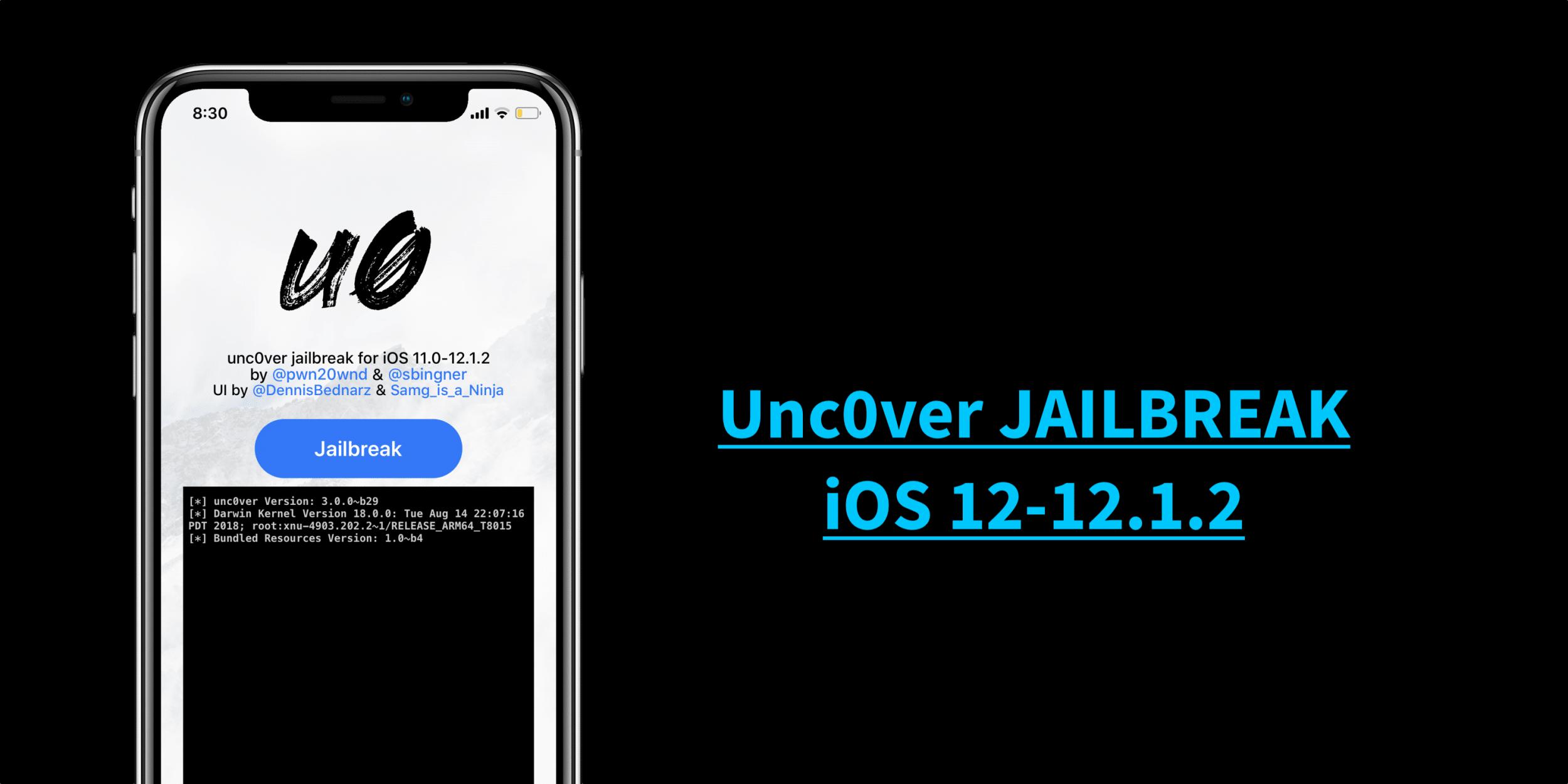 IOS-12-12.1.2-UNC0VER-JAILBREAK