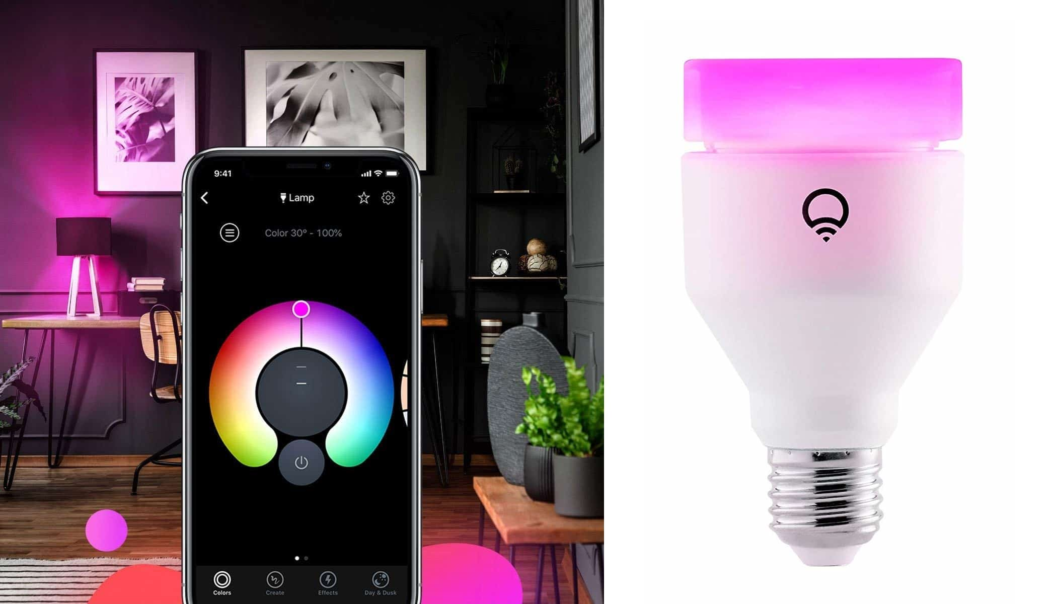 LIFX Wi-Fi Smart LED Light Bulb